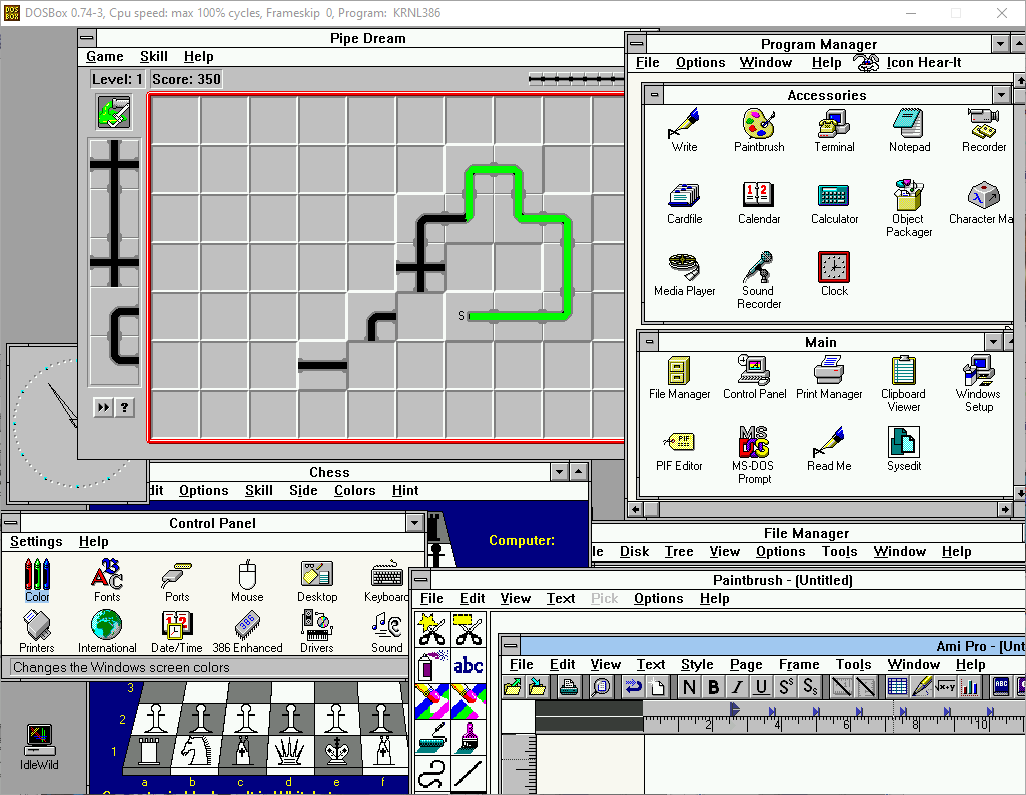 Windows 3.1 Screenshot